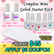 🚩[Apply $8 Coupon] Complete Gelish Kit Set ★ Perfect kit for Starters! Customized ★Limited Set