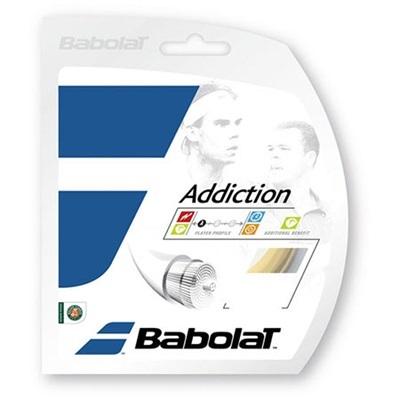 バボラ(Babolat) アディクション 125/130/135 BA241115 730 ナチュラル 【テニス ガット ストリング 硬式】の画像