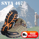 FREE DELIVERY|Sepatu Gunung/Trekking/Hiking/Adventure SNTA 467