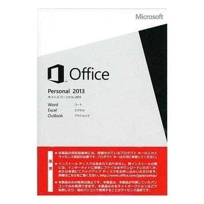 [マイクロソフト]★新品未開封★Microsoft Office Personal 2013日本語版(DSP/ OEM )+PCパーツの画像