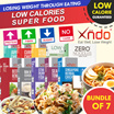 [Bundle of 7 Box]  1 day Only! Xndo Losing Weight Through Eating Low Calories Super Food