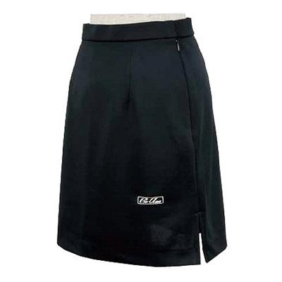 ABS(アメリカン ボウリング サービス) 両脇スリットスカート(ウエストゆったり) ブラック P-2900-1 【Pro-ama ボウリングウェア レディース ボーリング】の画像