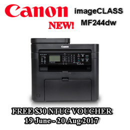 CANON imageCLASS MF244dw Feature-rich All-in-One (Print Copy Scan) duplex auto document feeder