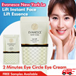 ★FREE SHIPPING★ Evanesce New York  Le Lift Instant Face Lift Essence Instantly Remove your Eye Bag In 2 Minutes Eye Circle Eye Cream Laneige Innisfree Mask Ageless *FREE Samples Available*