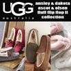 [UGG ]アグ Ansley アンスレー /Dakotaダコタ/mens ascotアスコット/mens Olsenオルセン/Fluff Flip Flop II フリップ フロップ II スリッポン ムートン シープスキン