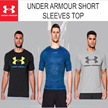 *2-3 DAYS DELIVERY* RESTOCKED! UA Short Sleeves Top Charged Cotton T-Shirt Compression Top