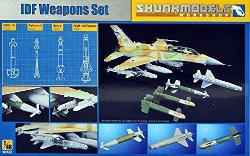 【クリックで詳細表示】Shunkmodels 1/48 IDF WEAPON SET (Python-4、 GBU-15、 Popeye、 Spice) SW-48001