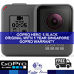 GOPRO HERO 5 BLACK ACTION SPORTS CAMERA * ORIGINAL SET * 1 YEAR SINGAPORE GOPRO WARRANTY * AUTHORIZED DEALER ► GET QPOINT REBATE!!