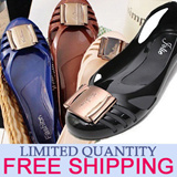★FREE Shipping★Limited quantity★Hot Sale Special price ★Best Jelly Shoes Special★ Sweet Mini Wedge jelly flat shoes Jelly Shoes European-style Womens Shoes