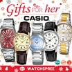 [CHEAPEST PRICE IN SPORE] *CASIO GENUINE* GIFTS FOR HER! Feat. Casio Ladies Leather and Stainless Steel Watches! LTP LTPV BEL Free Shipping and 1 year warranty!
