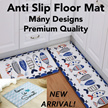 Home Floor Anti Slip Mat Rug for Bathroom Living Room Kitchen Balcony Main Door Sofa