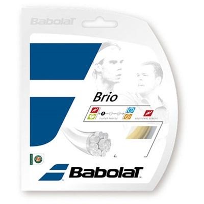 バボラ(Babolat) ブリオ 125/130/135 BA241118 730 ナチュラル 【テニス ガット ストリング 硬式】の画像