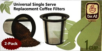 Breville Keurig Coffee Maker Filter : Qoo10 - Medelco RK202 One All Universal Single-Cup Replacement Coffee Filter, ... : Kitchen & Dining