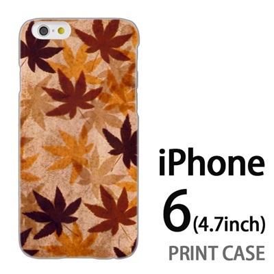 iPhone6 (4.7インチ) 用『No3 カエデ』特殊印刷ケース【 iphone6 iphone アイフォン アイフォン6 au docomo softbank Apple ケース プリント カバー スマホケース スマホカバー 】の画像