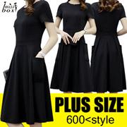 【★SUPER SALE★】600+ style S-7XL NEW PLUS SIZE FASHION LADY DRESS OL BLOUSE PANTS  TOP
