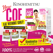 Kinohimitsu COF - Cut Oil Formula with Natural Fat Magnet - *100% Natural*Slimming* Weight Loss*