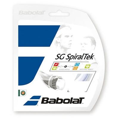 バボラ(Babolat) SGスパイラルテック 125/130 BA241124 003 ホワイト 【テニス ガット ストリング 硬式】の画像