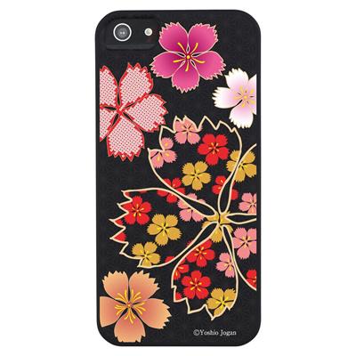 【iPhone5S】【iPhone5】【和柄】【iPhone5ケース】【カバー】【スマホケース】【ケース】 ip5-wa-002の画像