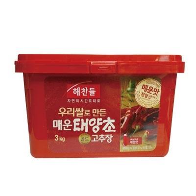 『ヘチャンドル』辛口 コチュジャン|辛みそ(3kg)[ゴチュジャン][韓国調味料][韓国料理][韓国食材][韓国食品]【の画像