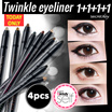 【Secret Key HQ Direct Operation】★[1+1+1+1]Twinkle Gel Pencil Liner Auto_0.5g/ Waterproof eyeliner