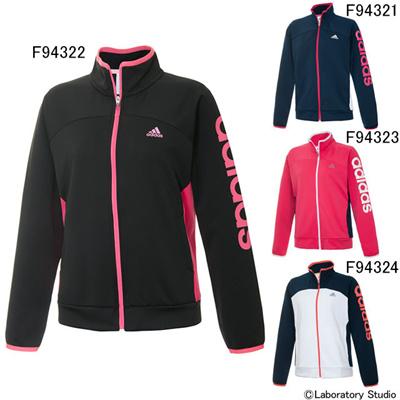 アディダス (adidas) レディース AT リニア WU ジャケット DDX25 [分類:ジャージ 上 (レディース)] 送料無料の画像