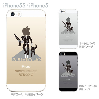 【iPhone5S】【iPhone5】【MOVIE PARODY】【iPhone5ケース】【カバー】【スマホケース】【クリアケース】【ユニーク】【MOD MEX】 10-ip5-ca0050の画像