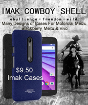Imak Case For Blackberry Meizu Motorola Meitu Vivo Phones + Tempered Glass Screen Protector