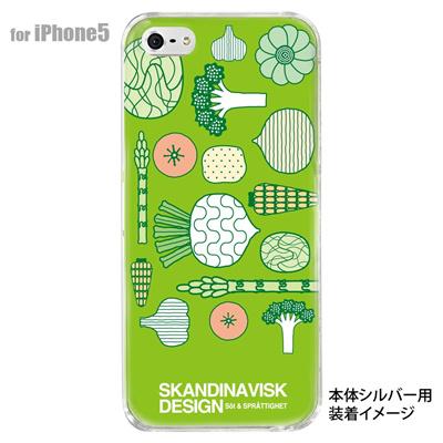【iPhone5S】【iPhone5】【Clear Fashion】【iPhone5ケース】【カバー】【スマホケース】【クリアケース】【フラワー】【北欧デザイン】 10-ip5-skv-08の画像