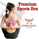 -New Designs-^SweetangelShop^ Local Seller / Local Exchange - Premium Sports Yoga Zumba Gym Running Bra *Get Fit Burn those FATS!* Premium Ladies Sports Bra[Medium - High support]
