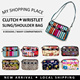 【MyShoppingPlace】★Clutch/Wristlet Shoulder/Sling Bag ★Owl Design Clutch Bag★UNISEX Korean Style★Quality Material★Xmas★Birthday Gift★For Charm Accessories★Sale★ Fast Shipping ★SG Seller★Fashion Designs