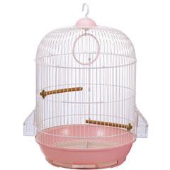 マルカン小鳥用飼育ゲージ鳥かごバードパレスロイヤル桜MB-94