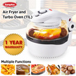 EuropAce 11 Litres 5-In-1 Air Fryer Oven (EAO 103P)/ 1 YEAR WARRANTY