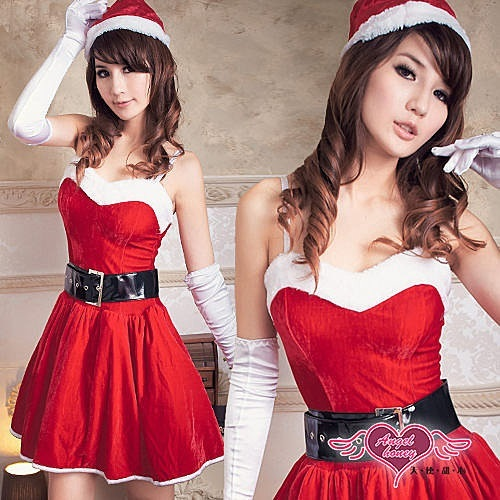 Sexy Christmas Xmas Halloween Santarina Uniform Santa Clothes Costumes Dress Gift Hot Sexy Lingerie Party Club