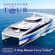 [National Day Special] Batam Ticket - 2 Way SG/BATAM with tax options. While Stocks last