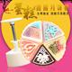 2014 New Design Mooncake Mould with mooncake Plastic case ( 5 pieces)