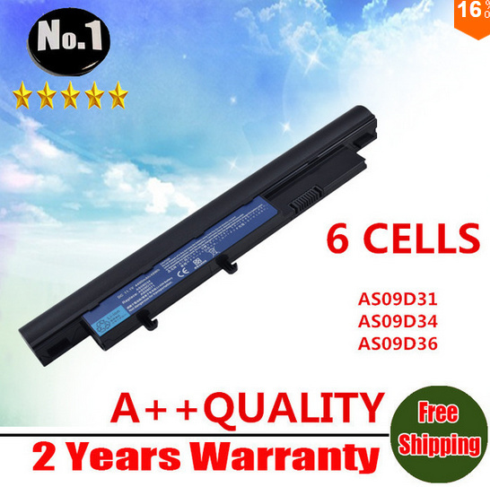 【クリックで詳細表示】WHOLESALE New 6CELLS laptop battery for ACER 3810T 4810T 5810T 8371 8471 AS09D31 AS09D34 AS09F34 AS3810T AS4810TG