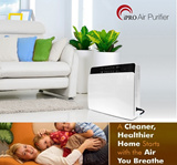 [Brand New model] iPRO 4 in 1 HEPA Filter Air Purifier. Touch Screen Panel. Air Quality Sensor Detector. UV light. 4 gear Timer. Ionizer. Standing or Wall mounted. Fragrance compartment.