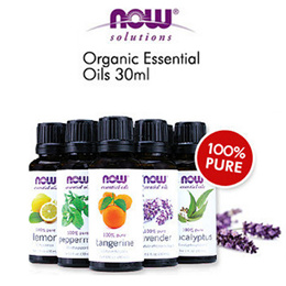 Now Foods Solutions 100% Pure/Organic Essential Oils 1 fl oz (30 ml /118 ml) 100% Authentic from USA