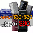 ★MAKE $90★samsung digital door SHS-2920 /SHS-2421 /SHS-H500 / SHS-1411/ SHS-D500 SHS-H700  door lock