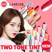 [ラネジュ]ツートーンリップバー!laneige two tone lip bar/全く違う魅力のカラーが会って完成される唇!シャベトゥのようになめらかでしっとりしたテクスチャー!一度のタッチでプロの階調が完成されます。韓国コスメ