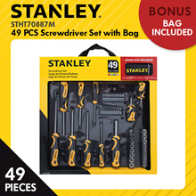 [Never Before Price - Limit to 20 Set only] Stanley 49pcs Screwdriver Set with Bag