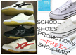 [LOCAL]SCHOOL SHOES ★WHITE/BLACK★LACE★VELCRO★SNEAKERS ★MORE CHOICE++ ★NEVER BE WRONG TO BUY EARLY ★BACK TO SCHOOL ★STOCK READY