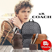 【 MENS COACH 】Wallet / Shoulder / Messenger Bag Collection © Ship From USA / 12.12 Day Special promotion