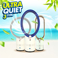 【time sale】FREE SHIPPING*ULTRA QUIET*OUDE Smart Fan LD-006 / Bladeless / Fanless / Easy to Clean / Stand Fan / Wind / Summer / Airconditioner / Safety Fan【M18】