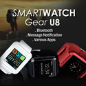 U8 SMARTWATCH / similar to samsung smart watch but with more functions/xiaomi/Samsung/iPhone/iOS /WALL CHARGER