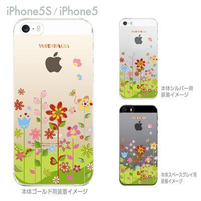 【iPhone5S】【iPhone5】【Vuodenaika】【iPhone5ケース】【カバー】【スマホケース】【クリアケース】【フラワー】 21-ip5-ne0036の画像