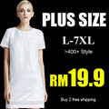 【17th Aug update】S-7XL 2015 NEW PLUS SIZE FASHION LADY DRESS OL work dress SLIM DRESS top chiffon short SET