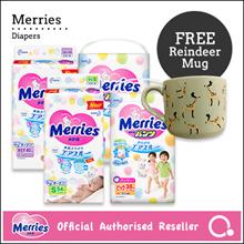 [Kao] Merries Diapers - Tape/ Pants | Premium diapers made in Japan