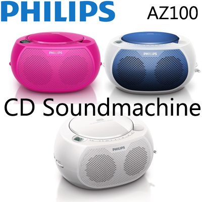 Philips pink cd player