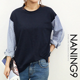 ★ Korea fashion industry NO.1 Naning9 ★limited special price ♥ incredible bargain ♥ 2015 F/W New! High Quality!/Trendy t-shirts/serat*t